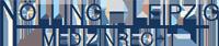 Nölling – Leipzig – Medizinrecht Logo